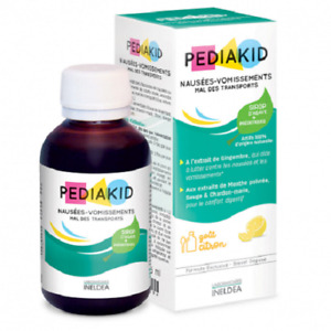 Pediakid Syrup Reduces Nausea and Vomiting Transport Ginger Comfort Agave 125 ml