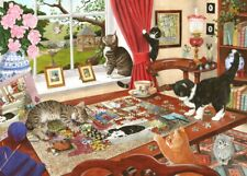 House of Puzzles Puzzling Paws 1000 Piece Jigsaw Puzzle
