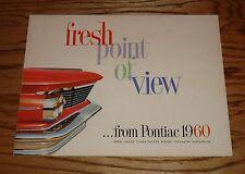 Original 1960 Pontiac Full Size Sales Brochure 60 Bonneville Star Chief Catalina