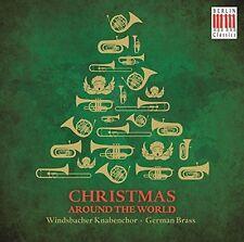 German Brass-Christmas around the world CD NUOVO Various