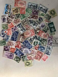 Australia Stamp Lots,500 Pre-Decimal stamps