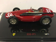 1 43 Hot Wheels Elite Ferrari 553 F1 Supersqualo Winner GP Spain 1954