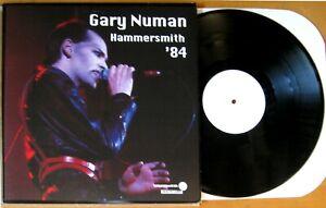Gary Numan Hammersmith '84 Ltd Ed #'d white label boot NEAR MINT VINYL