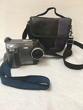 Sony Mavica  1.3 Mega Pixels CCD Mpegmovie Camera & Case