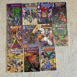 Image Comics Wildc.a.t.s Adventures #1-10 + Sourcebook Full Set 1995 VF/NM