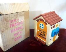 Walt disney productions ceramic bank made in Japan three little pigs