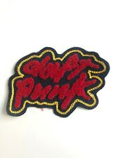 DAFT PUNK EMBROIDERED SEW ON PATCH