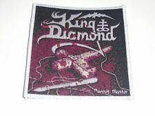 KING DIAMOND THE PUPPET MASTER WOVEN PATCH