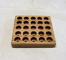 Handmade Red Oak Loading/Depriming Block, 577