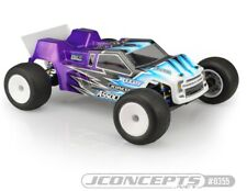 Jconcepts 0355 F2 Assoicated T6.1 Finnisher Clear Body w/ Rear Spoiler