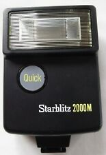 Starblitz 2000M Quick electronic flash Hot Shoe or Cable Connection