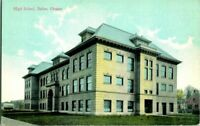 1910 SALEM OREGON HIGH SCHOOL POSTCARD.