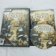 The Lord of the Rings Conquest PC DVD ROM Game with Instructions