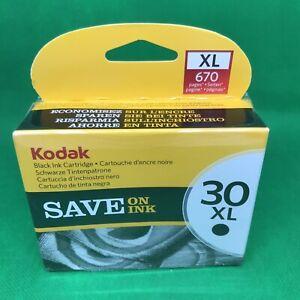 Kodak 3952363 30XL Ink Cartridge BLACK New & Sealed