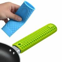 Insulation Pot Handle Silicone Panhandle Cover Mitts Cover Non-slip Handle Set