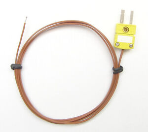 K-Type Thermocouple for Digital Thermometer High Temperature Wire Sensor PK-1 1p