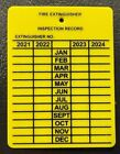 NEW PLASTIC FIRE EXTINGUISHER 4-YEAR INSPECTION TAGS...2021-2022-2023-2024