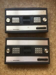 2 X Faulty Intellivision Consoles