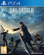 Final Fantasy XV - Day One Edition (PS4) NEW AND SEALED - IMPORT - IN STOCK