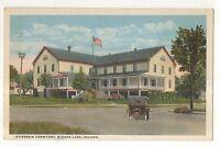 Otterbein Dormitory, WINONA LAKE IN Vintage Indiana Postcard