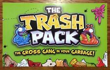 """Trash Packs Toys R US Promotional Sign Poster Advertising 14"""" X 81/2"""" Card Stock"""