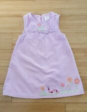 Gymboree 2T Dress Flowers, Button, CATERPILLAR, Fringe & Grass, Lightweight EUC