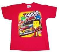 NASCAR 2008 Kyle Busch M&Ms Double Sided AOP Red Chase T-Shirt Size L Distressed