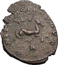 Gallienus son of Valerian I 267AD Ancient Roman Coin Hippocamp Sea horse i57409