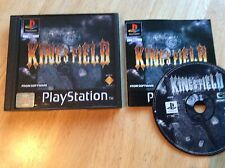 Kings Field Ps1 Game! Rare! Look At My Other Games!
