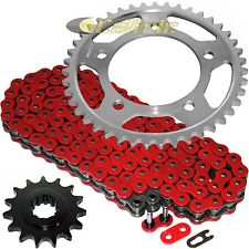 Red O-Ring Drive Chain & Sprockets Kit Fits HONDA CBR600F2 CBR600F3 CBR600SJR