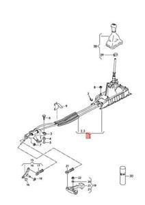 Genuine AUDI VW SKODA SEAT A3 Cabriolet Selector Mechanism 5Q0711049BK