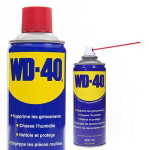 Dégrippant multi-fonctions WD-40 400 ml spray lubrifiant aérosol bombe de WD40