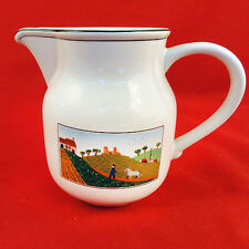 "NAIF DESIGN Villeroy & Boch Milk Jug 5"" tall NEW NEVER USED made in Luxembourg"