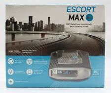 Escort MAX 360c Radar & Laser Detector Wi-Fi Brand New Factory Sealed 0100037-1