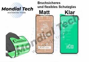 Handy Klar Matt PET Keramik Displayschutz Panzer Schutzglas Folie AntiFinger