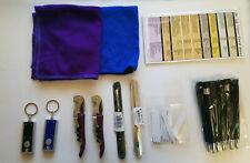 Waiter/Server Tool Pack - Pens/Wine Openers/Flash Lights/Polishing Rags and more