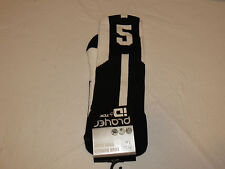 Player ID by TCK PCN LG # 5 TWI 1 sock black white vollyball basketball soccer
