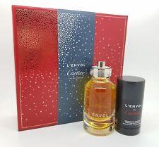 L'Envol de Cartier GIFT SET For Men 2.7 Oz EDP Spray + 2.5 Oz Deodorant Stick