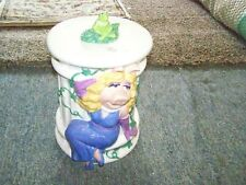 Miss Piggy/Kermit Henson Muppets Treasure Craft Cookie Jar-1990'S-Nice!