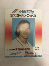 DALE FRITZ 90s Illawarra Steelers Mercury Star Swap Westfield Nrl Card