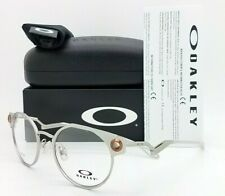 NEW Oakley Deadbolt RX Prescription Frame Satin Chrome Copper OX5141-0350 50mm