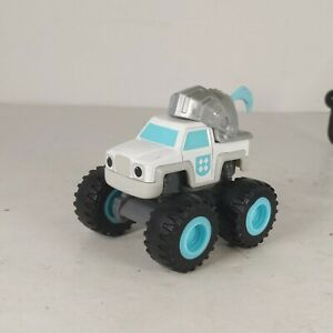 Blaze and The Monster Machines Knight Truck Diecast Car Truck Toy Rare