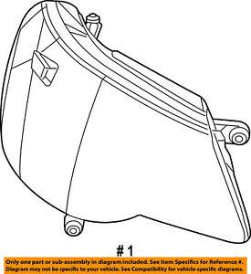Dodge CHRYSLER OEM 11-14 Avenger-Headlight Head Light Headlamp 5116342AD