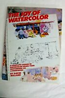 The Joy of Watercolor by David L. Millard (1983, Hardcover)
