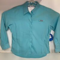 Columbia PFG Omni Shade Button Down Long Sleeve Shirt Women's XL - Fishing - NWT