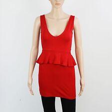 Zara Womens Size S Red Short Mini Dress