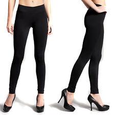 Women's High Waisted Leggings Long Solid Seamless Basic Plain Fitness Stretch