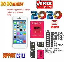 Lot R-SIM15/RSIM14+Nano Unlock RSIM Card for iPhone 11 Pro Max X XR 8 6S iOS13