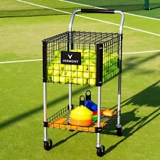 Teaching Tennis Ball Cart | 325 Tennis Balls | Portable Tennis Ball Trolley