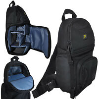 Photo Camera Sling Backpack Bag for DSLR Cameras Canon Nikon Sony Pentax